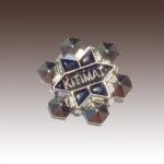 City of Kitimat Snowflake Custom Lapel Pins
