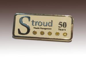 Custom Lapel Pins for Stroud Agencies