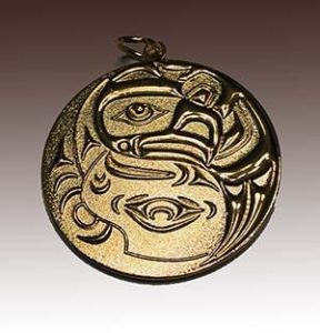 3D Die Cast Medallion with Gold Plating