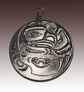 3D Die Cast Medallion with Silver Plating