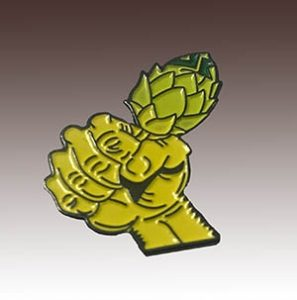 Die Stamped Soft Enamel Lapel Pin made for Howe Sound Brewery